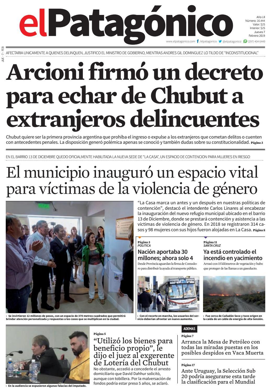 79a64def3e814 edicion211806022019.pdf by El Patagonico - issuu