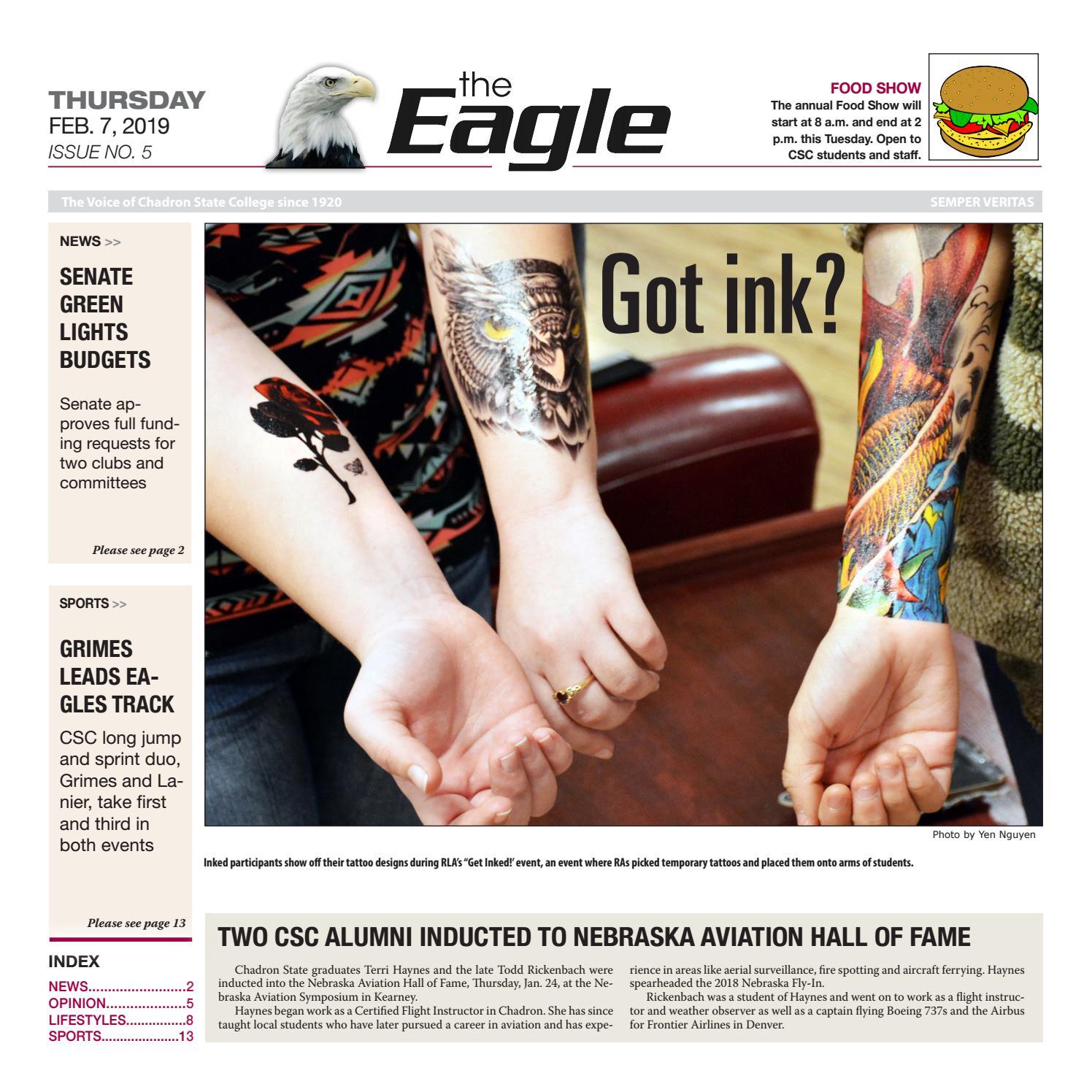 The Eagle: Feb  7, 2019 by The Eagle - issuu