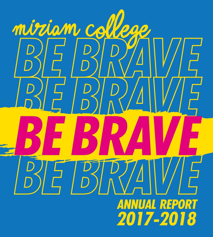c9b2a9f017e Miriam College Annual Report 2017-2018 by Miriam College - issuu