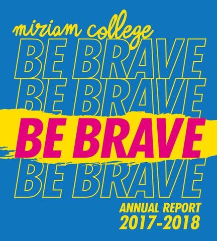Miriam College Annual Report 2017-2018 by Miriam College - issuu