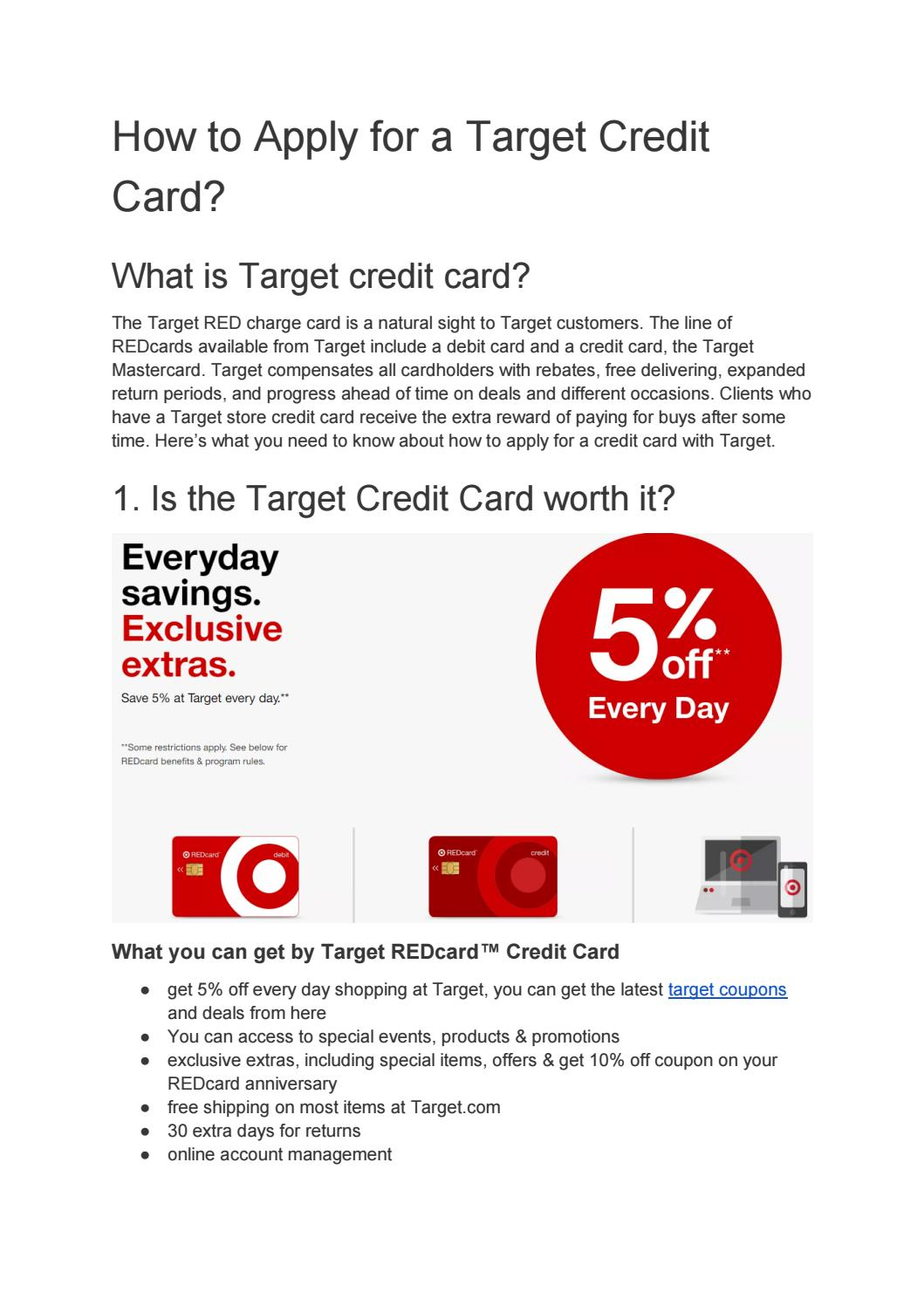 How I Successfuly Organized My Very Own Apply For Target Credit Card | Apply For Target Credit Card