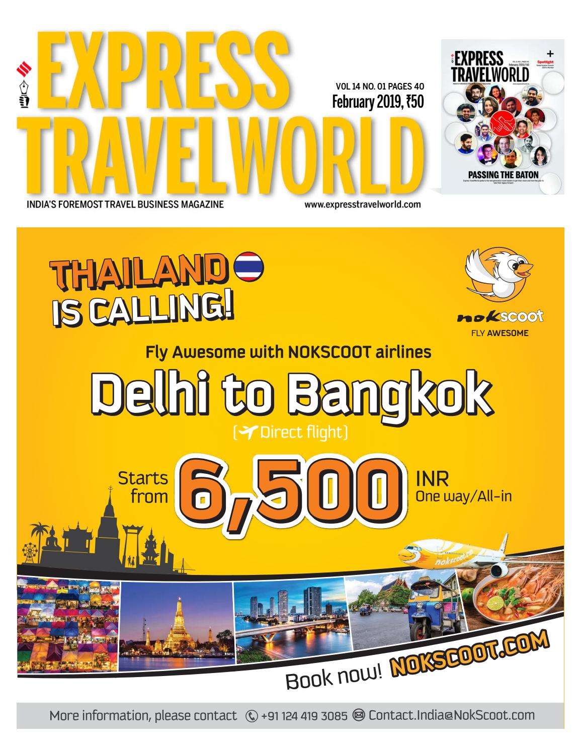 Express TravelWorld (Vol 14 No 1) February, 2019 by Indian Express
