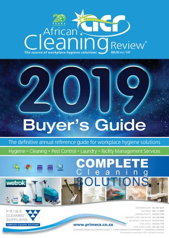 Healthcare Cleaning And Disinfectant Source Book By Federal Ers Guide Inc Issuu