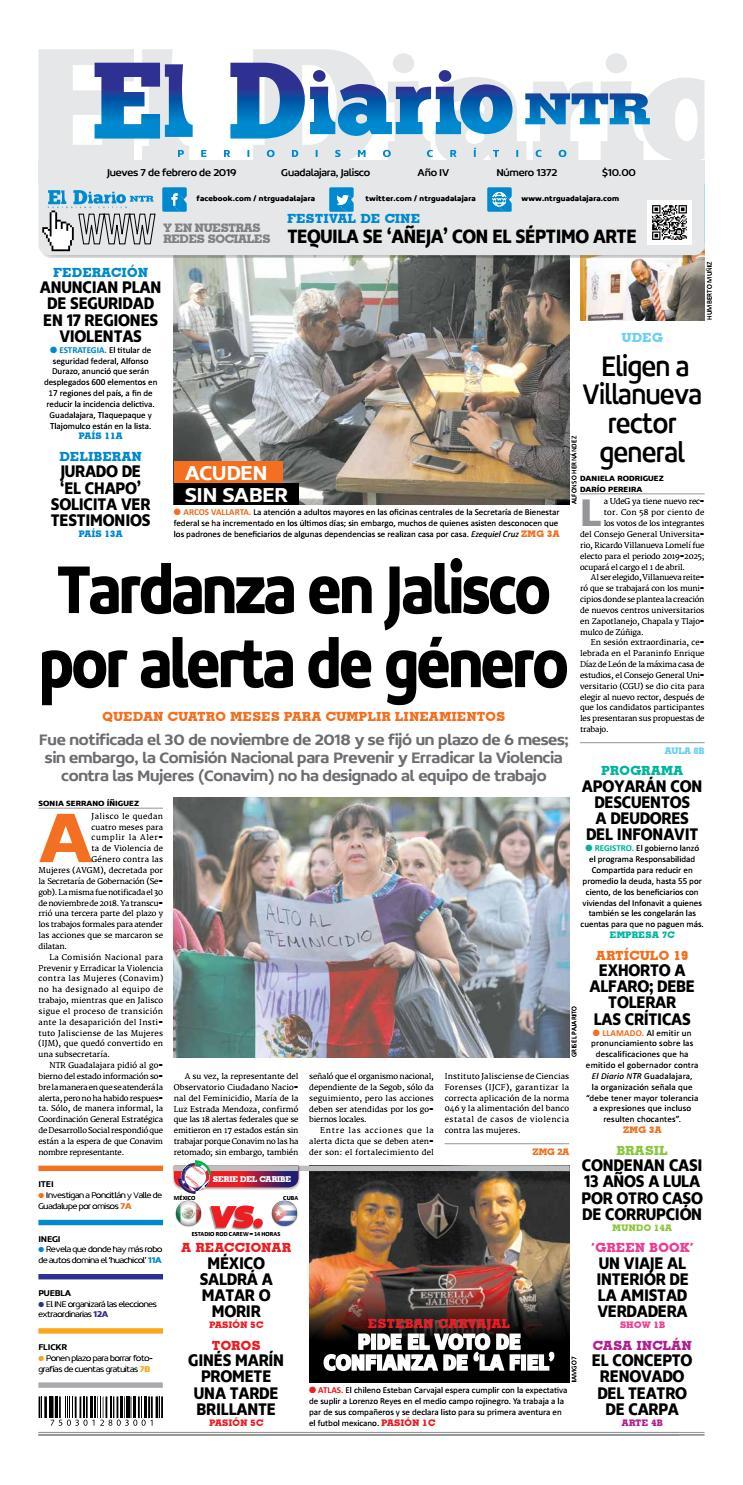 El Diario NTR 1372 by NTR Guadalajara - issuu 4fff97ca7b02b