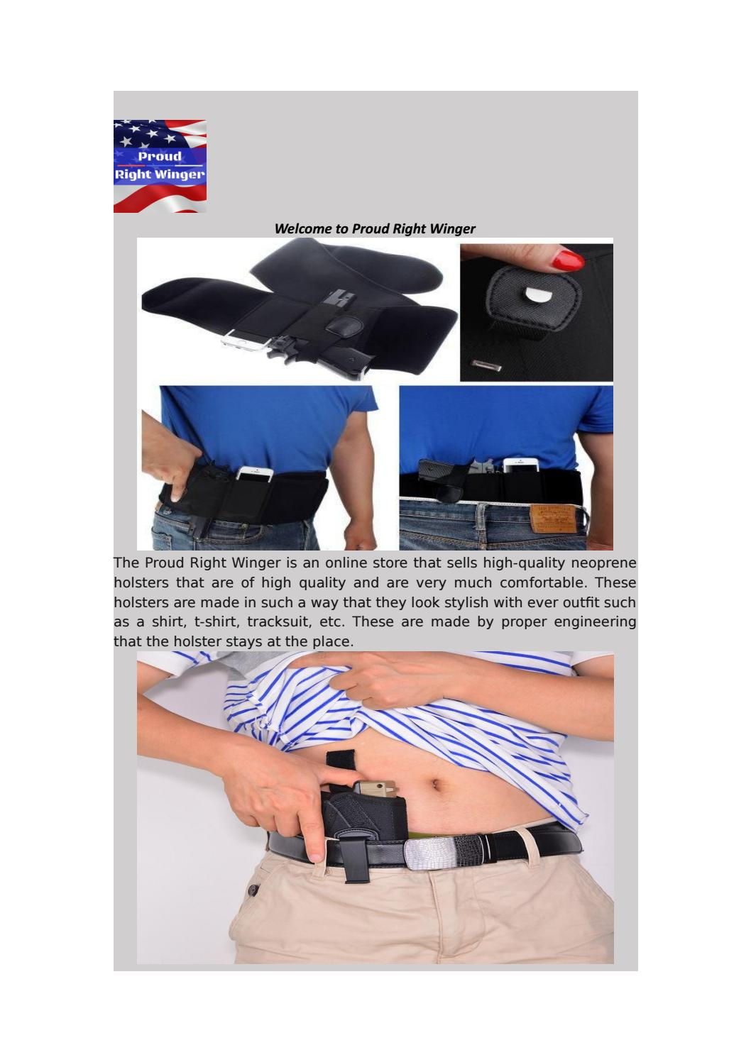 Best Belly Band Concealment Holster by proudrightwinger - issuu