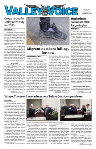 Valley Voice Issue 133 (17 January, 2019) by Valley Voice