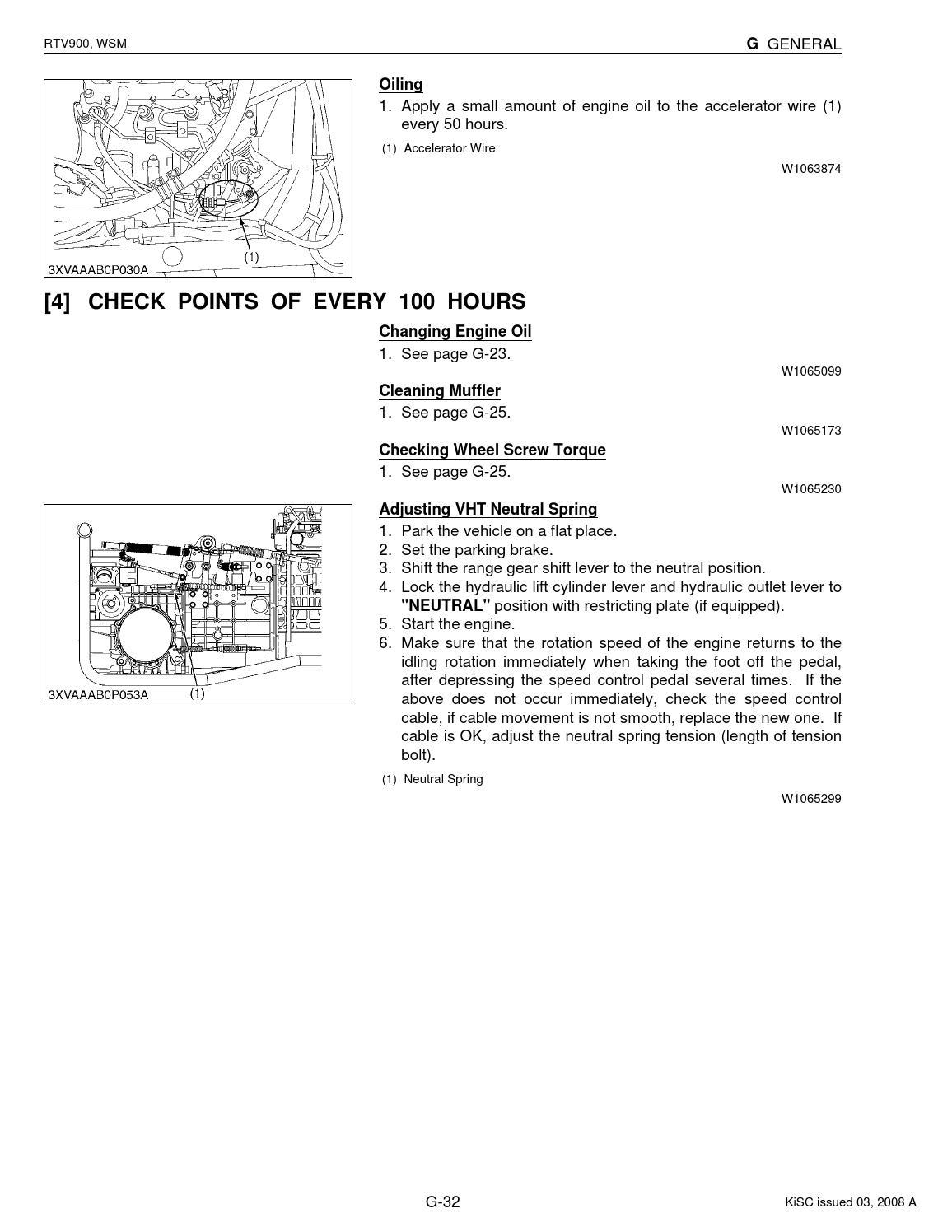 KUBOTA RTV900 UTILITY VEHICLE UTV Service Repair Manual by