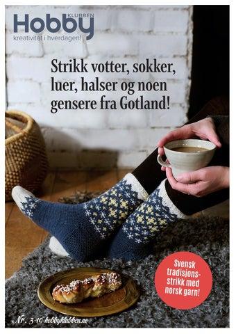 2d646aa0 Strikk votter, sokker, luer, halser og noen gensere fra Gotland!