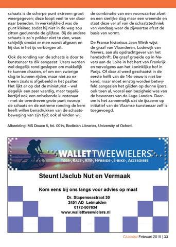 308ecbb8390 Clubblad Nut & Vermaak Februari 2019 by IJsclub Nut & Vermaak - issuu