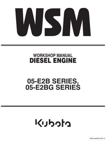 Kubota V1305-E2B Diesel Engine Service Repair Manual by 1637912 - issuu
