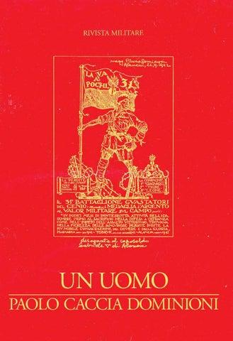 PAOLO CACCIA DOMINIONI by Biblioteca Militare - issuu cfe0cf1a16d6