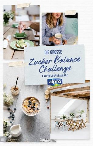 Page 14 of Die große Alpro Zucker Balance Challenge
