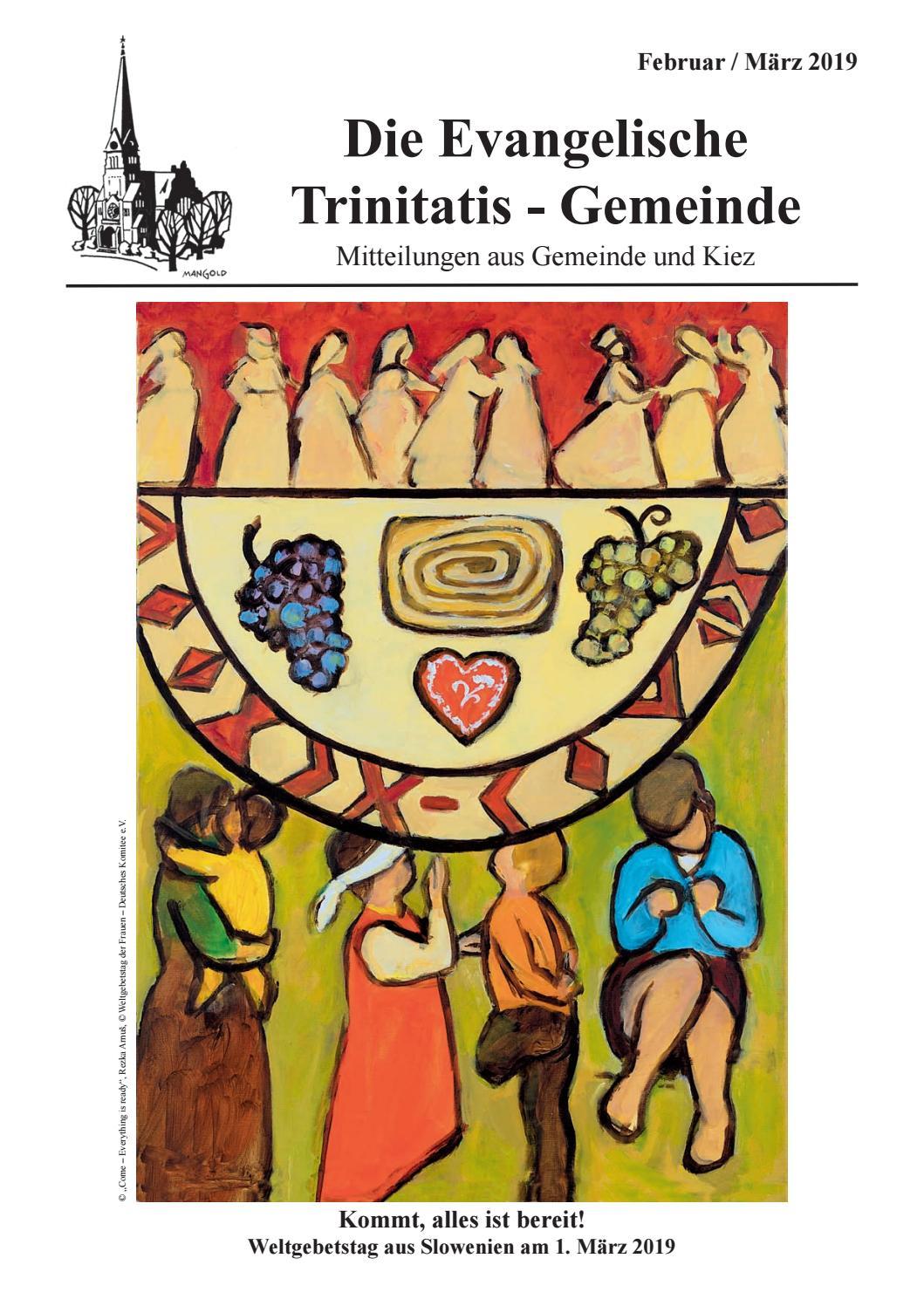 Gemeindezeitung 25 by Ev. Trinitatis Kirchengemeinde Berlin   issuu