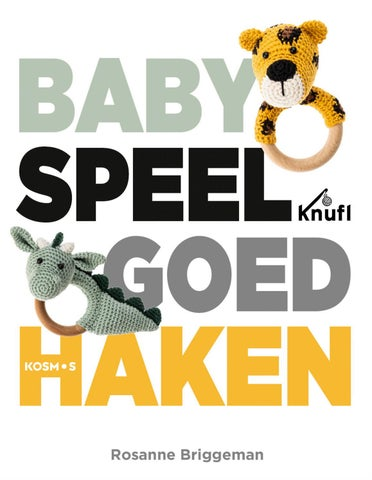 Babyspeelgoed Haken Rosanne Briggeman By Veen Bosch Keuning