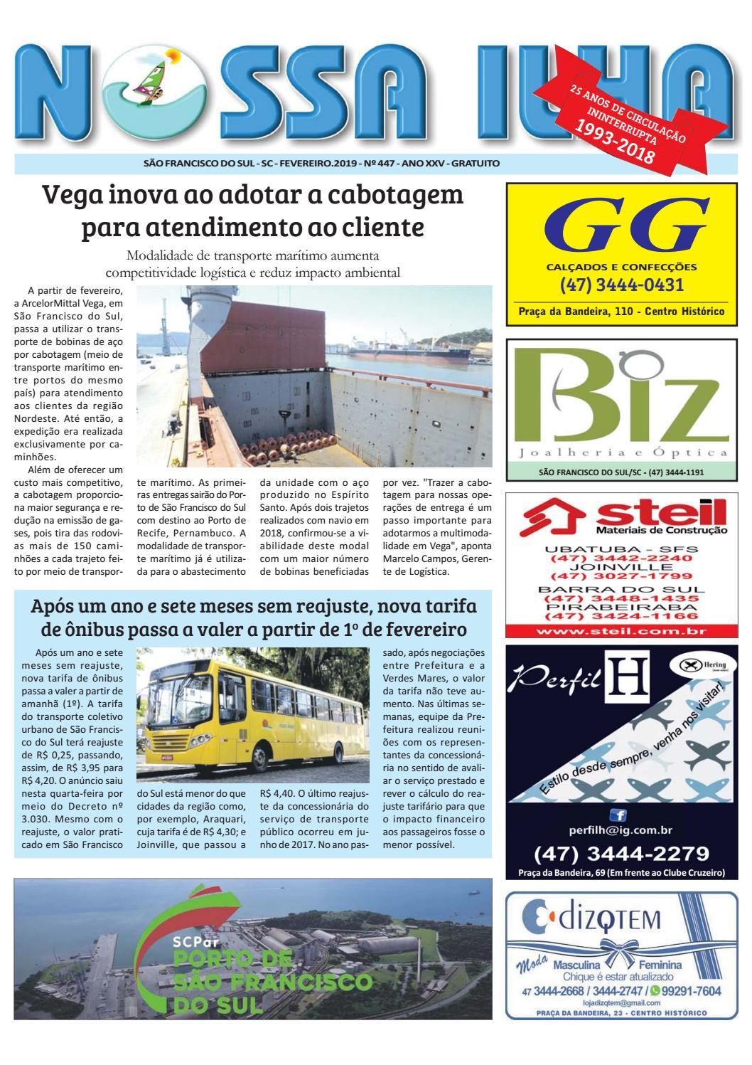 566b56f1c5a88 Nossa Ilha - 1ª quinzena fevereiro 2019 by aldemir demir batista - issuu