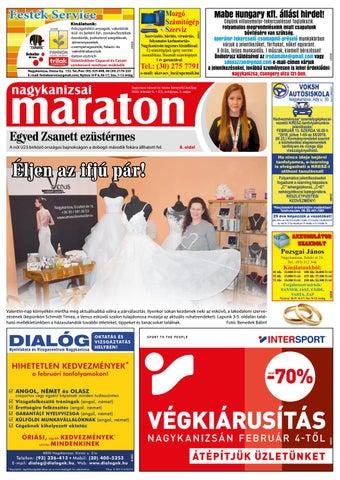 Nagykanizsai Maraton - 2019. 02. 08. by Maraton Lapcsoport Kft. - issuu 6be31f807e
