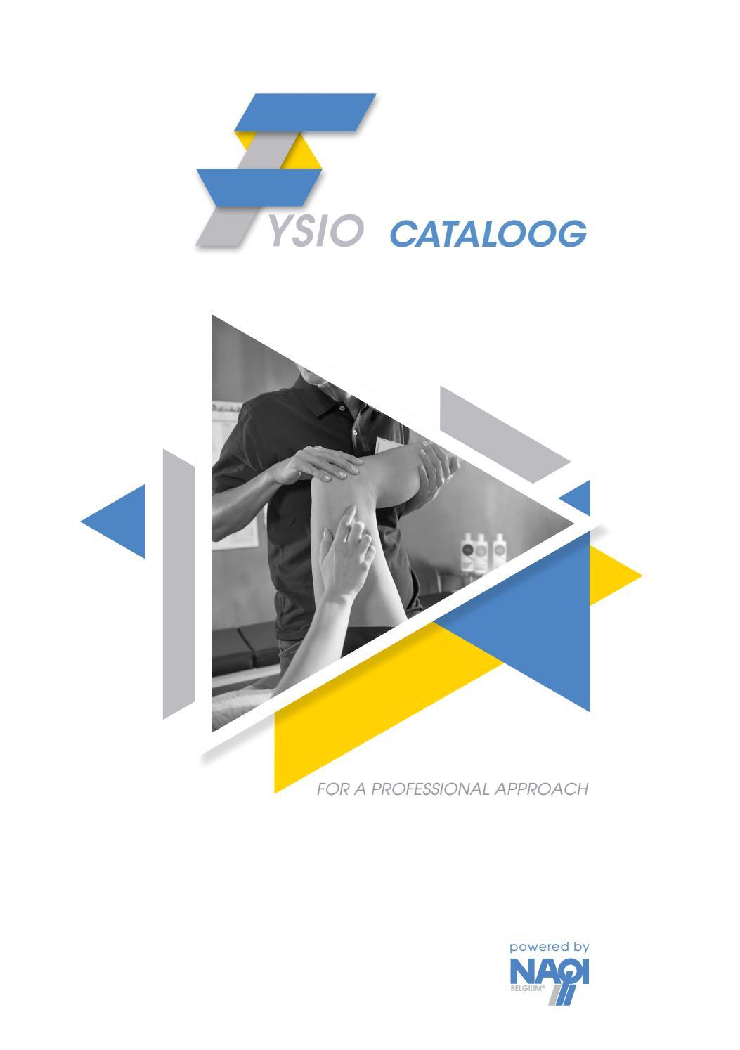 Uitgelezene Fysioshop cataloog 2019 - 2020 by Naqi Belgium - issuu EZ-82