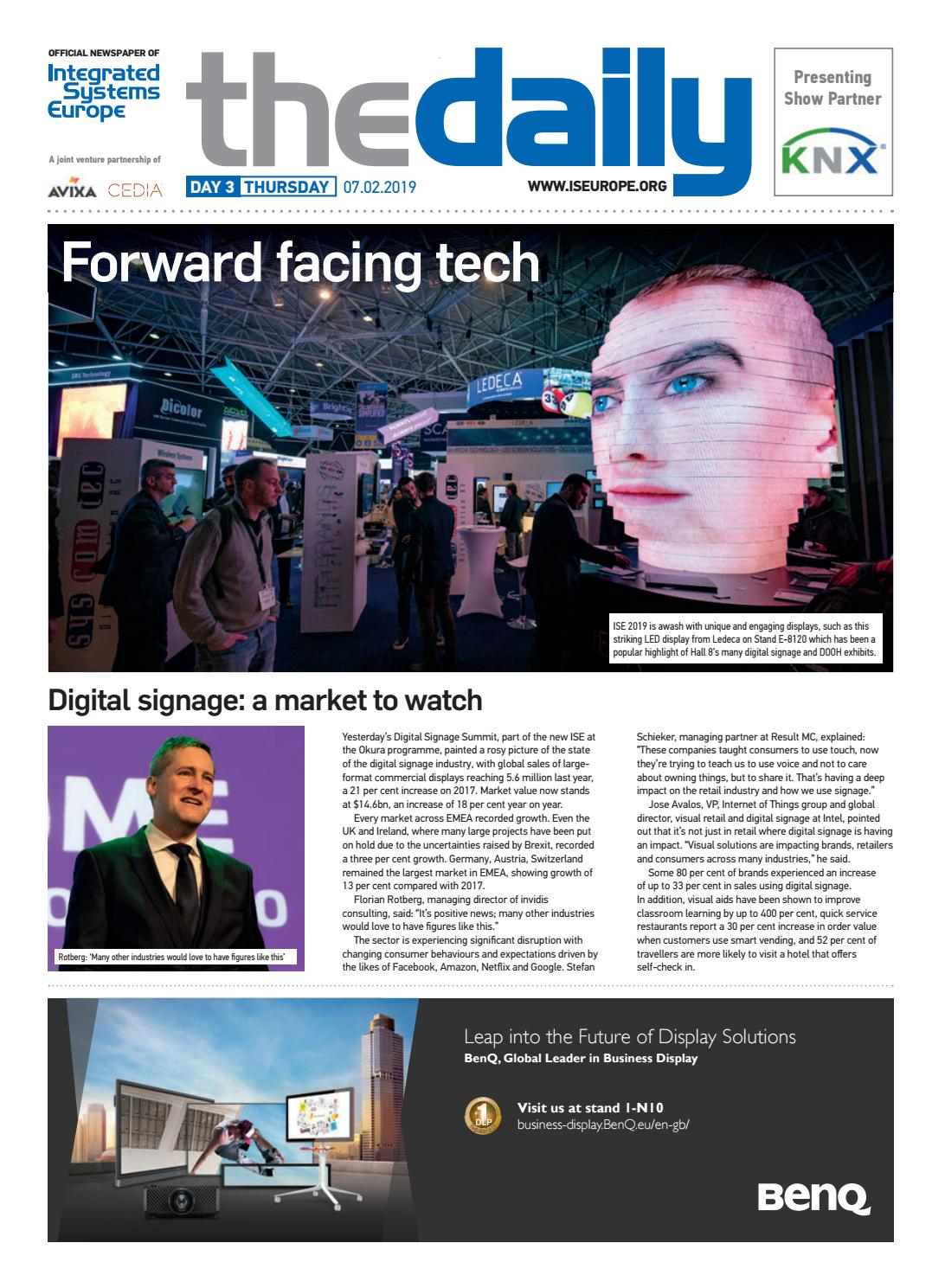 Ise Daily Thursday 07 February 2019 By Future Plc Issuu Images, Photos, Reviews
