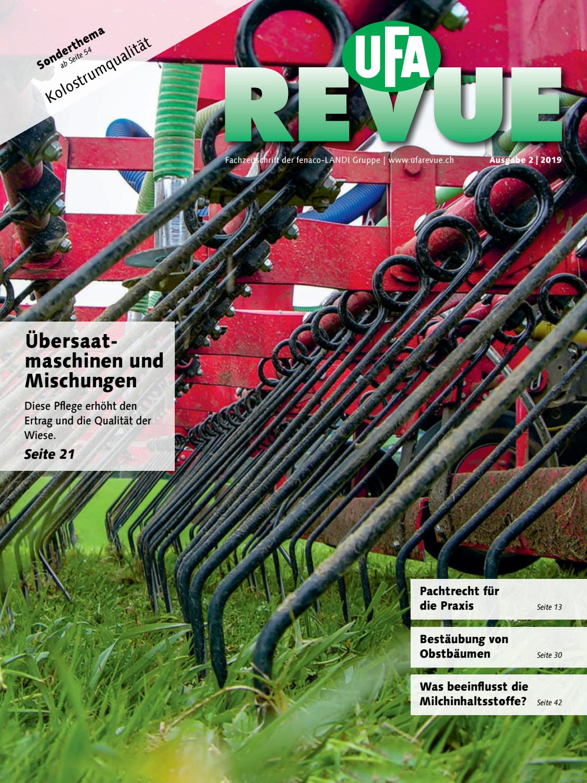 Ufa Revue 02 19 By Fenaco Genossenschaft Issuu