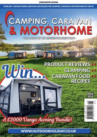Camping, Caravan & Motorhome 2018/19 by Media Chameleon Ltd