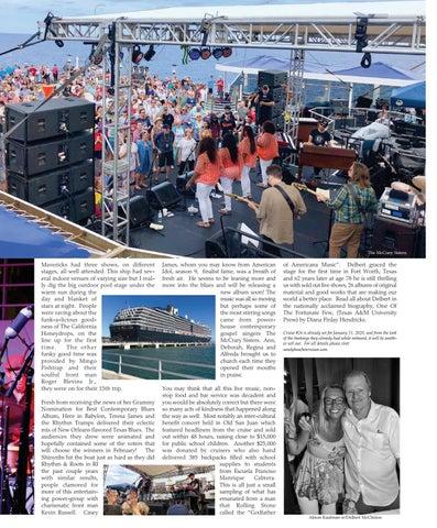 Page 25 of MUSIC, MIRTH and MOJO - Delbert McClinton's Sandy Beaches Cruise XXV