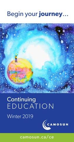Ffpsc Calendrier 2019.Camosun Continuing Education Winter 2019 Calendar By Camosun