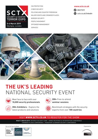 Page 12 of Security & Counter Terror Expo 2019: The Next Decade
