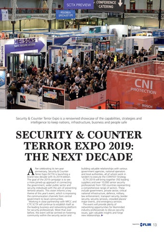 Page 13 of Security & Counter Terror Expo 2019: The Next Decade