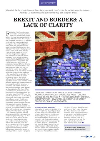 Page 25 of Brexit and Borders: A Lack of Clarity