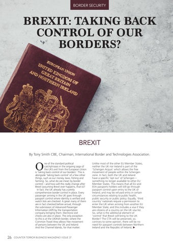 Page 26 of Brexit: Taking Back Control of Our Borders