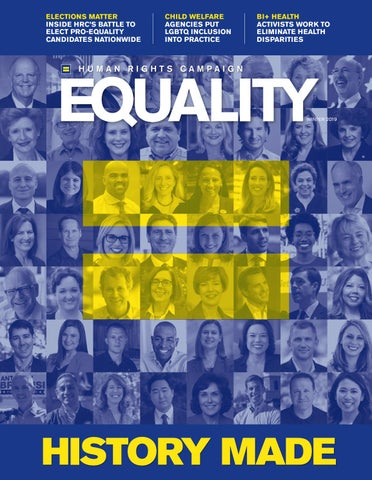 d0639555ef3c Equality Magazine Winter 2019 by Human Rights Campaign - issuu