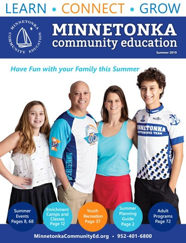 Minnetonka Community Education 2019 Summer Catalog by