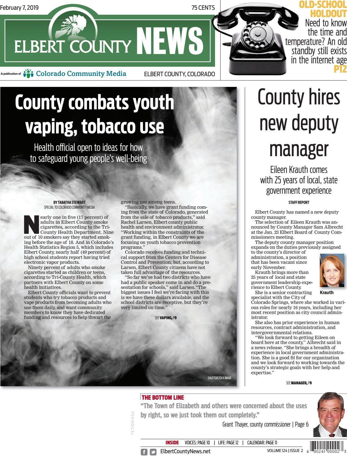 Elbert County News 0207 by Colorado Community Media - issuu