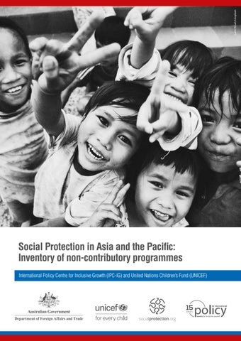 Social Protection in Asia and the Pacific: Inventory of non