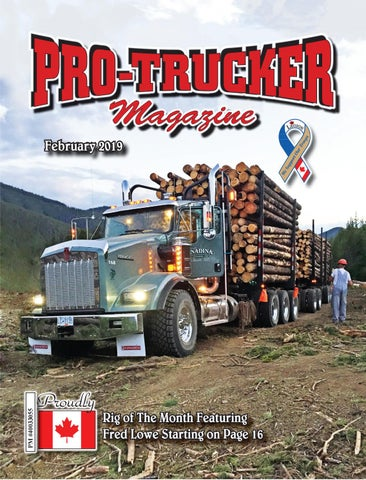 Page 1 of Pro-Trucker Magazine February 2019