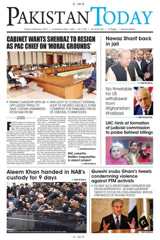 E-Paper PDF 8th February 2019 (KH) by Pakistan Today - issuu
