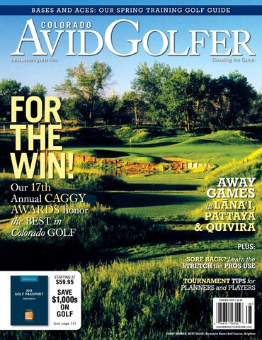 2019 Spring Colorado AvidGolfer Spring Magazine by Colorado ... db58e26d3