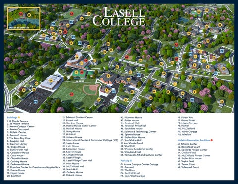 Lasell College Campus Map By Lasell College Issuu