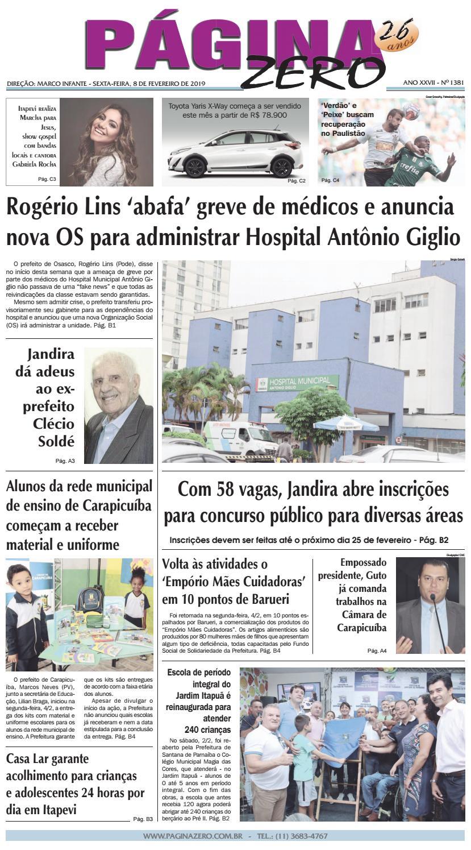 d6894f8bf Página Zero Edição nº 1381 (07 02 2019) by Para acessar o seu Página Zero -  issuu