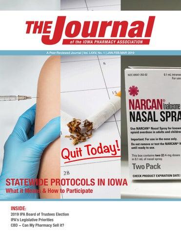 IPA Journal - Jan/Feb/Mar 2019 by Iowa Pharmacy Association - issuu