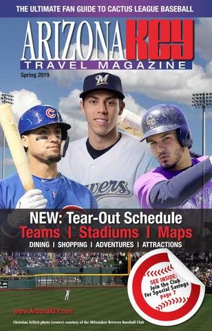 2019 Cactus League Guide by Arizona KEY Travel Magazine by