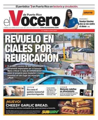 d87d3be9b Edición  8 de febrero de 2019 by El Vocero de Puerto Rico - issuu