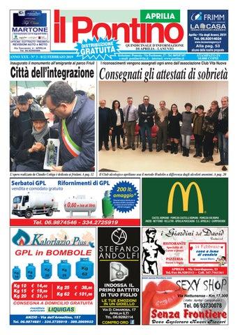 IL PONTINO APRILIA - Anno XXX - N. 3 - 8 22 Febbraio 2019 by Il ... a97ace5a87ae