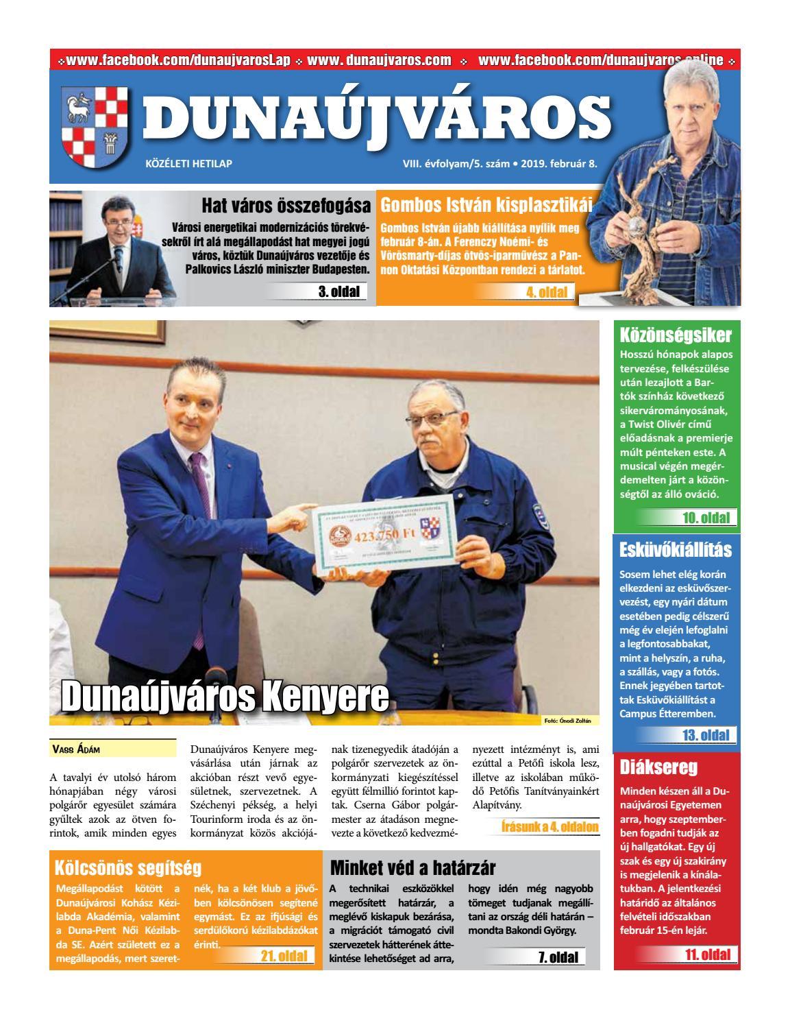 6ec8d3b86e7e DKH_2019-02-08 by Dunaújváros Közéleti Hetilapja - issuu