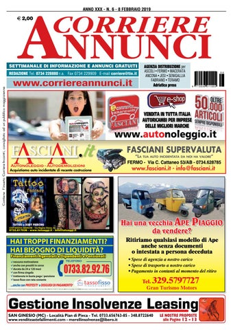 84b088c0eb Corriere 6-2019 by Corriere Annunci - issuu