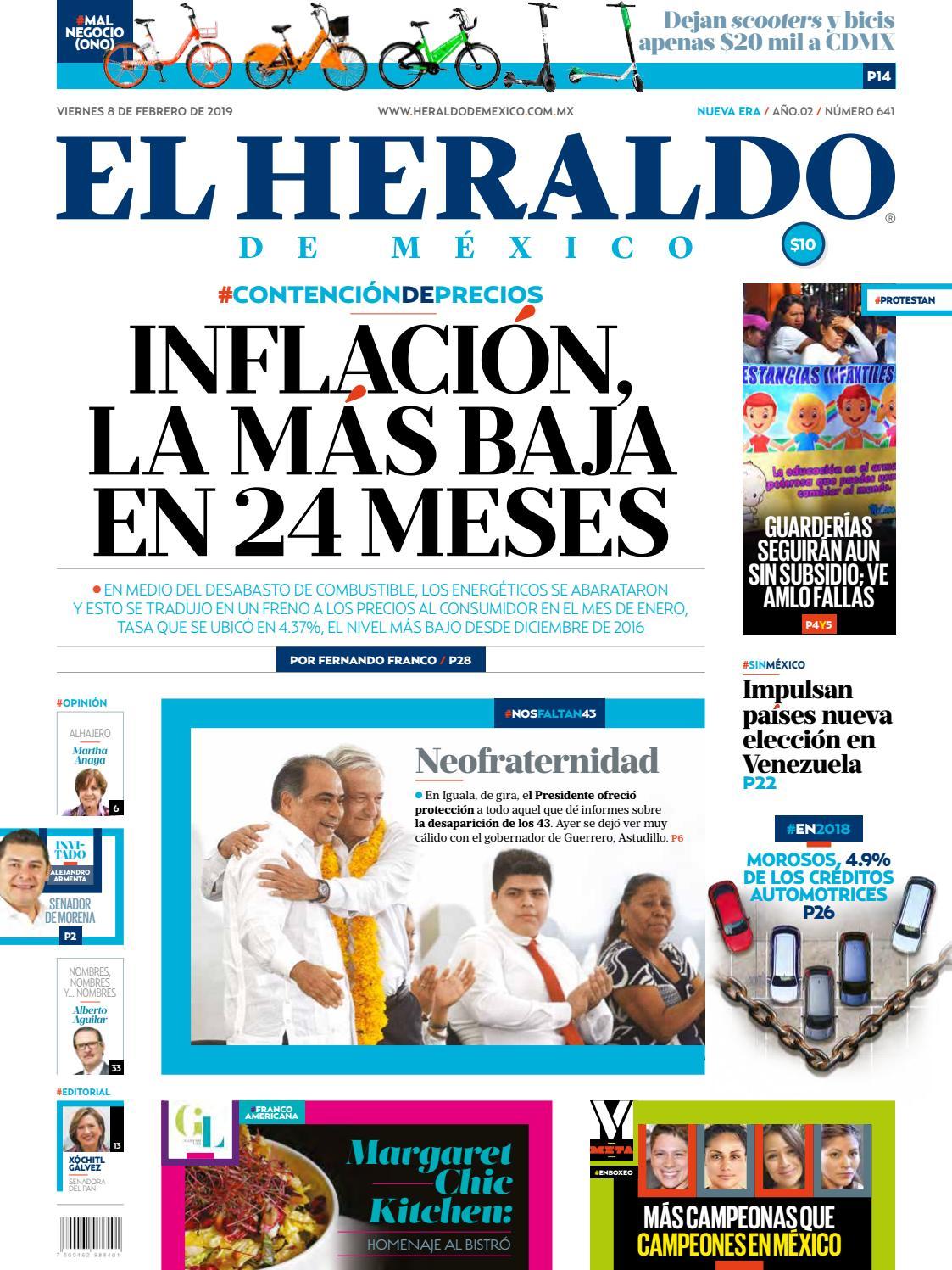 8 de febrero de 2019 by El Heraldo de México - issuu fbec35544d4c5