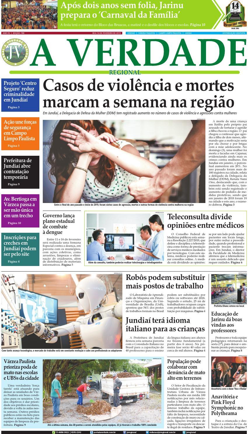 71bd437d2 JV Regional ® - Edição 766 by Jornal A Verdade Regional - issuu