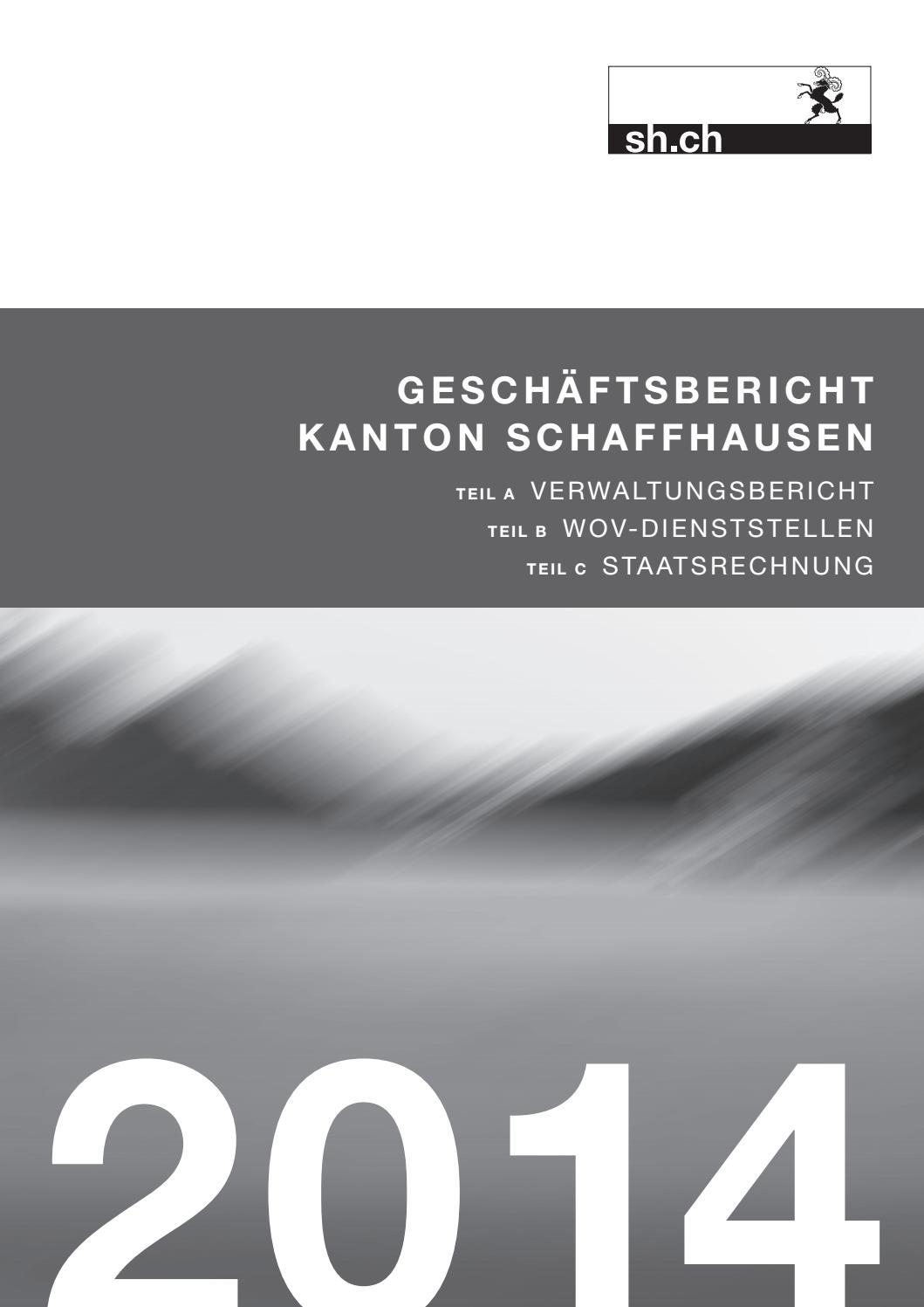 geschäftsbericht 2014 kanton schaffhausen by ksd sh issuu  die v partei%c2%b3 moechte ein zeichen setzen #14