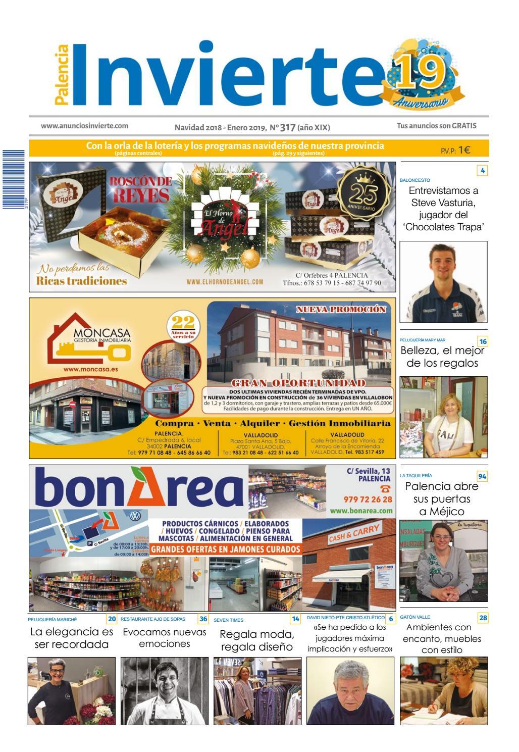 b179b7dc2a 317 Navidad 2108 - Enero 2019 by Periódicos Invierte Palencia - issuu