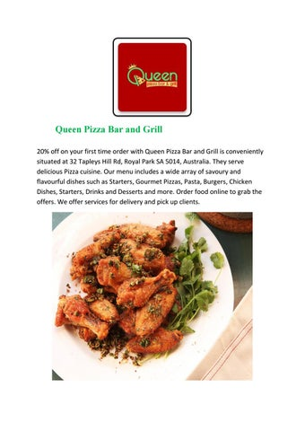 Queen Pizza Bar And Grill Royal Park Order Food Online By